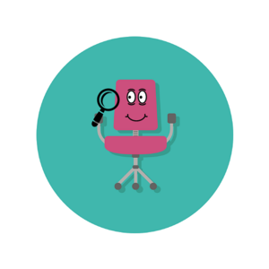 Chair Checker Mascot Fav
