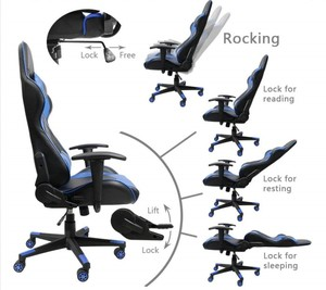 Homall Gaming Chair Racing Style Angle Adjustment