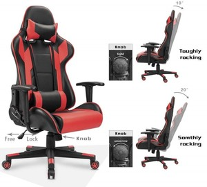 Homall Gaming Chair Racing Style Rocking Function